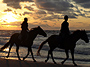 Sunset Horseback Riding